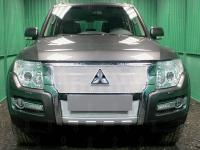 Защита радиатора Premium, хром, верх Allest MITPIV15.PREMIUM.top.chrome для MITSUBISHI Pajero IV