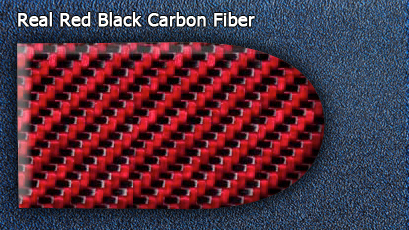 Отделка Real Red Black Carbon Fiber салона