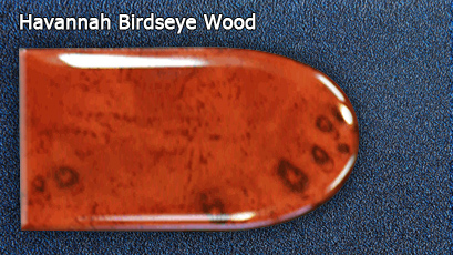 Отделка Havannah Birdseye Wood салона