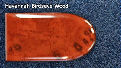 Отделка Havannah Birdseye Wood салона