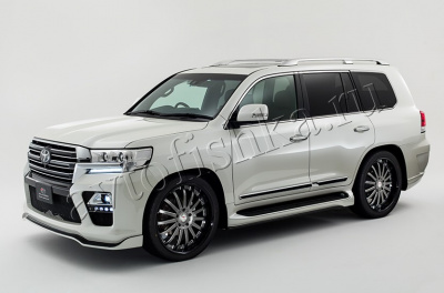 Toyota Land Cruiser J200 (07–15) рестайлинг комплект в 2019 обвес ELFORD