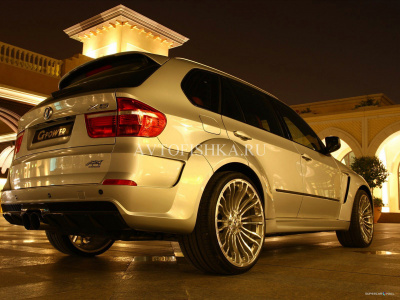 BMW X5 E70 (07-13) Бампер G-Power Typhoon задний